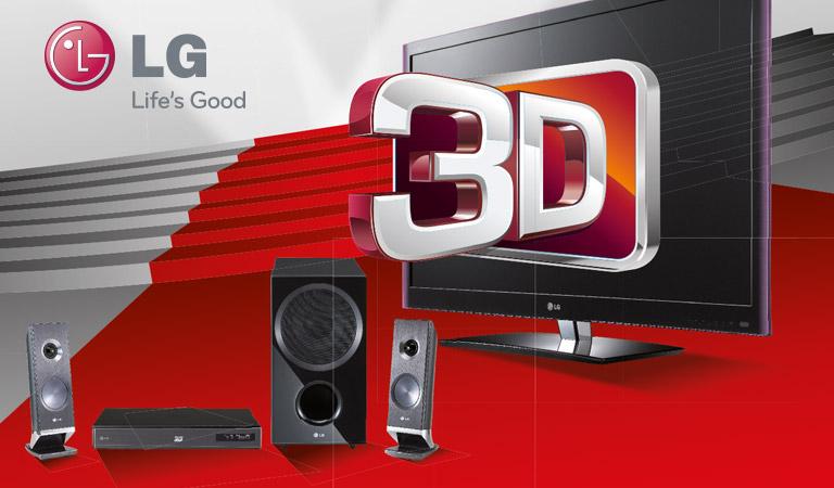 Création graphique et réalisation de supports pour LG
